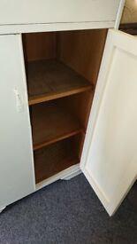 Large storage cabinet shabby chic upcycle refurb