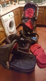 Graco Symbio Complete Baby Travel System Used £80