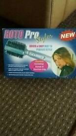 Hot Hair Brush Straightner