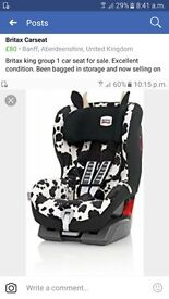 Britax King group 1 carseat
