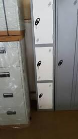 1 off 3 door clothes locker