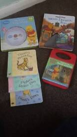 Winnie the pooh books and cds
