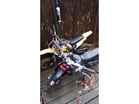 Mini moto dirt bikes call