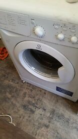 INDESIT WASHING MACHINE 6KG LOAD A RATED CAN DELIVER