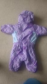 Waterproof baby snowsuit