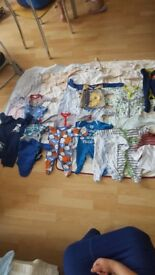 Joblot baby clothes perfect condition size 0-3