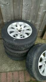 Vw touran alloys