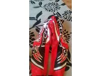 Helmet trossers and boots for sale