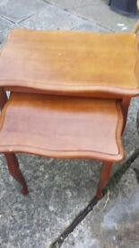 nest of table good condition