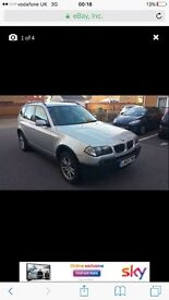 2005 x3bmw...fully loaded..MOT...great condition...6 speed manual,leather seats...cheap