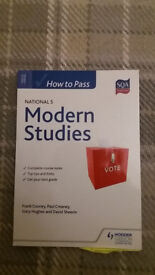How to Pass National 5 Modern Study
