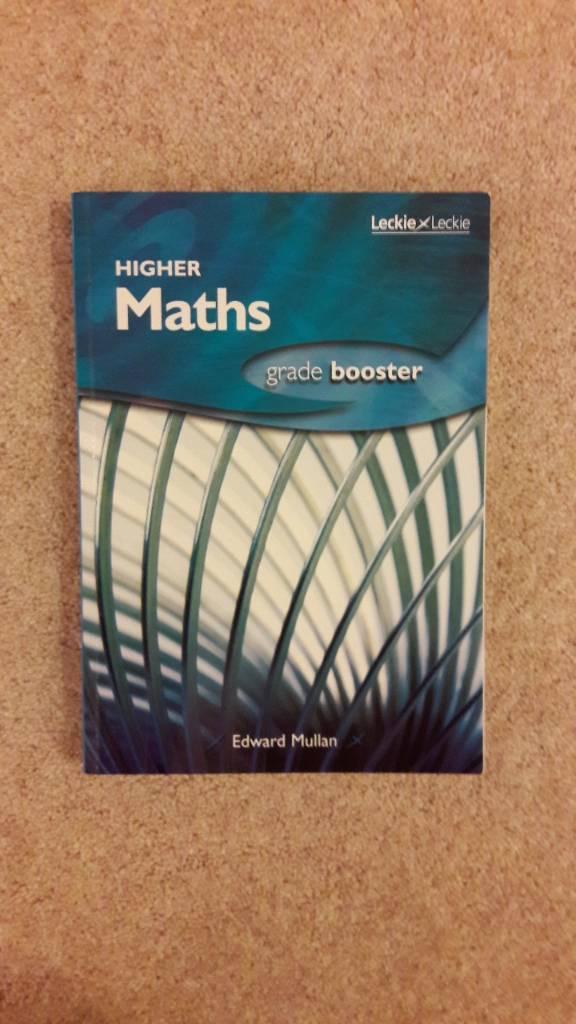 Higher Maths book