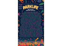 PARKLIFE SATURDAY TICKETS x2, cheaper than face value