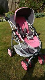Pink Dimples Stroller for Dolls