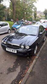 Jaguar X-Type, 55 plate 76000 miles, 1 year MOT, new clutch, service history