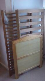 Pine wood baby cot