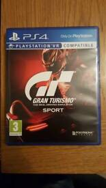 Ps4 gt sport game. Brand new. Swap for other ps4 or xbox one games
