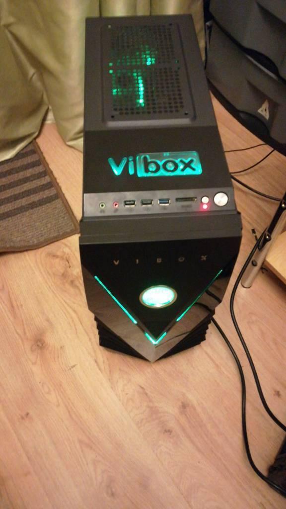 Vi box mid tower case no components inside