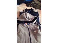Adidas jackets x2