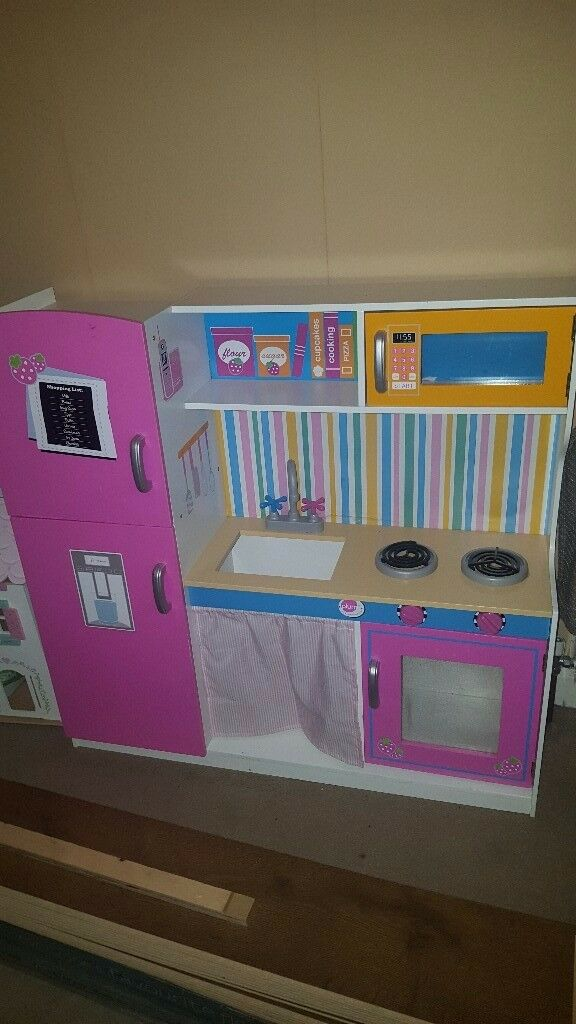 Lovely wooden toy kitchen