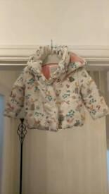 John Lewis 9-12 months girls coat