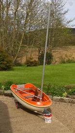 Dabbler 2.4m Rowing, Sailing, Outboard Dingy