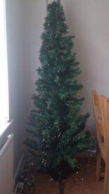 fibre optic 7 foot christmas tree