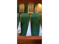Cutlery canteen table for sale