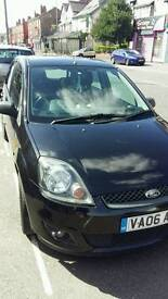 Ford Fiesta 1.4L 2006, black, 5 door