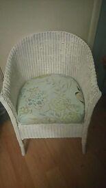 wicker lloyd loom? conservatory/ bedroom chair