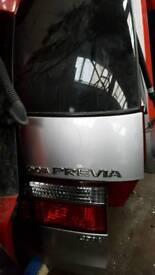 Toyota previa rear tail gate £70