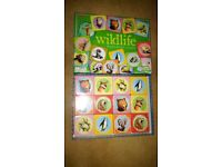 Brand new eeBoo Wildlife matching card game