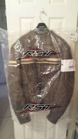 "Leather Motorcyle Jacket ""TT Races"" BRAND NEW"