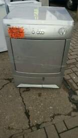 ZANUSSI 6KG CONDENSER DRYER IN SILVER