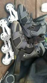 Roller blades oxelo size 7/ 41