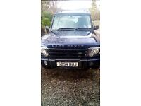 54 plate land rover discovery pursuit 7 seater
