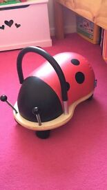 Wheely bug ladybird