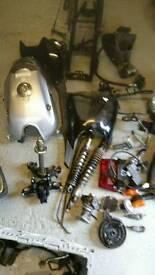 Yamaha ybr parts