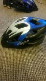 GIRO cycling helmet, medium, 54-61cm. Blue