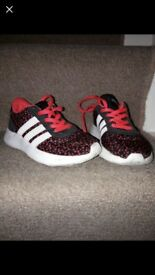 Girls addidas size 11