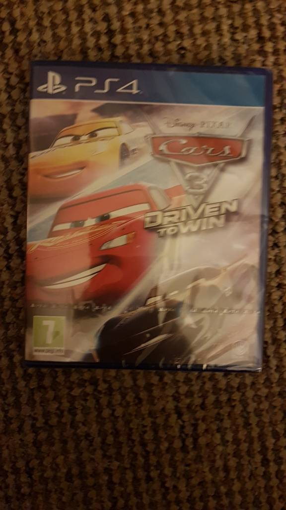 Brand New sealed PS4 Disney Cars 3 Game