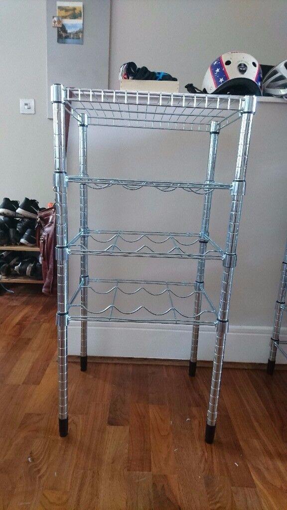 Ikea modular wine rack