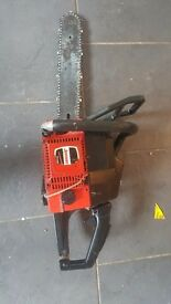 spares or repairs jonsered chainsaw