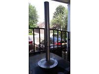 Heavy duty adjustable table legs silver