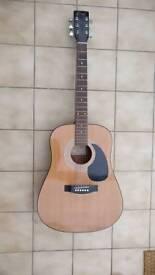Encore W250 acoustic guitar
