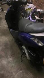 2007 piaggio zip moped 50cc 4t