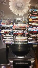 Job lot dvds ps3 games blue rays ps4 game