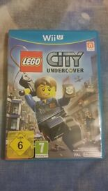 Nintendo Wii U game LEGO City undercover Excellent condition - like new