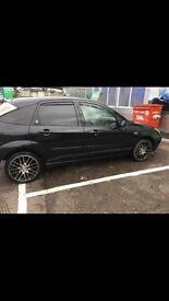 Black 1.8 ghia Ford Focus 2002