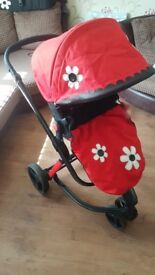 Cosatto Giggle travel system pushchair/pram